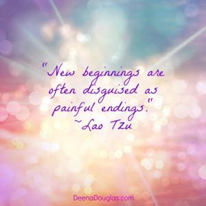 New beginnings: Happy New Beginnings Quotes, Laotzu Quotes, Quotes ...