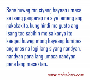 New Love Quotes Tagalog