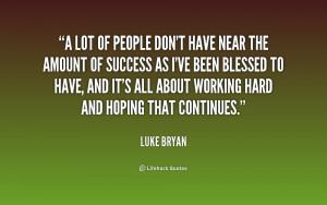 Luke Bryan Quotes