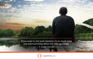 picture quote from E. Joseph Cossman.