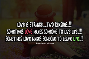 Love Quotes | Love Is Strange | We Heart It