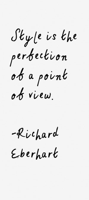 Richard Eberhart Quotes amp Sayings