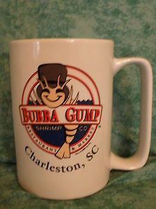 BUBBA-GUMP-SHRIMP-CO-LARGE-MUG-CHARLESTON-SC-1998-QUOTES-ON-SIDE ...