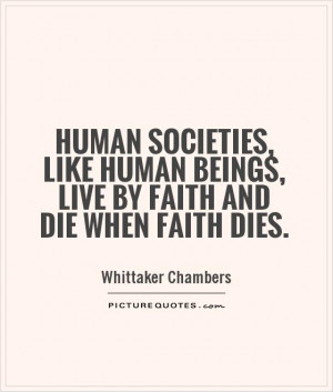 Society Quotes Whittaker Chambers Quotes