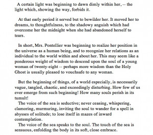The influence of mademoiselle reisz in the awakening by kate chopin