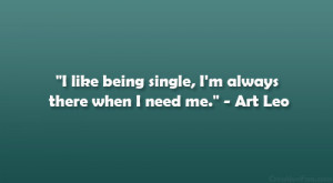Funny Quotes Being Single