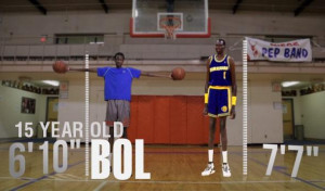 VIDEO) Can Manute Bol's 15 year old son, Bol Bol, become a 7'4 ...