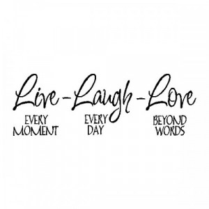 ... Quotes And Sayings: Live Laugh Lovefamily Wall Quote Sayings Removable