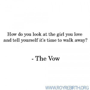 the vow Quotes | the vow quotes | Tumblr
