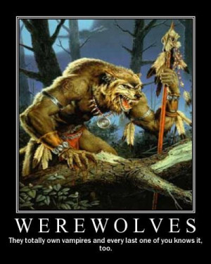 Werewolf Sayings Werewolf comments & graphics