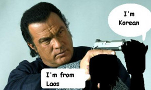 Steven Seagal, You Are Not Asian