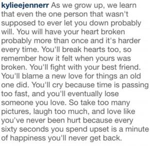 Kylie Jenner · Quotes via ken-dall-jen-ner
