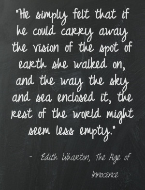 Edith Wharton, The Age of Innocence