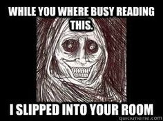 unwanted house guest more funny creepy unwanted houses funny stuff ...