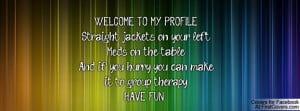 Welcome to Facebook Funny Quotes