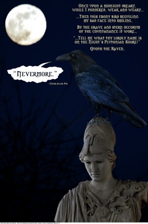 quot quot The Raven quot is a narrative poem by American writer Edgar ...