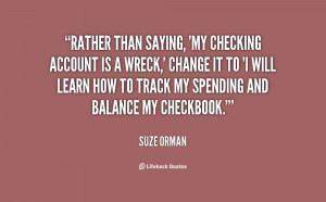Checking Account Quotes