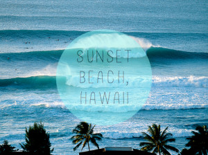 mine surf posted sunset hawaii surfer tf wave collection summerhigh ...