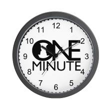 Scandal One Minute quote Wall Clock for