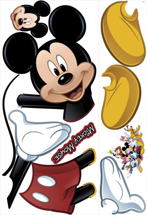 Mickey Mouse Giant Wall Stickers