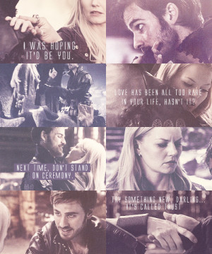 Once Upon A Time Captain Hook & Emma Swan