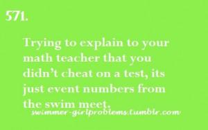 Swimming Sayings Swimming sayings
