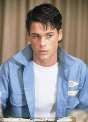 Rob Lowe COMPLAINS about being too good looking, saying there's an ...