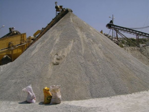 Dust From Quarry