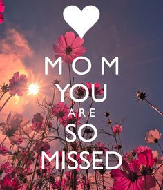 MY MOM DIED WHEN I WAS 17. BUT THERE IS RARELY A DAY GO BY THAT I DON ...