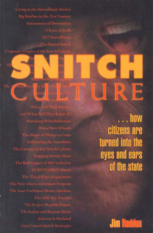 Snitches Quotes Snitch culture: how citizens