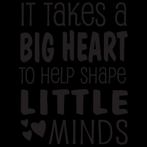 It Takes A Big Heart Wall Quotes™ Decal