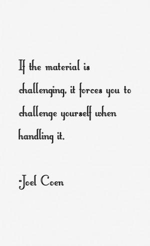 Joel Coen Quotes amp Sayings