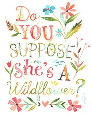 Alice in wonderland quote print by Katie Daisy