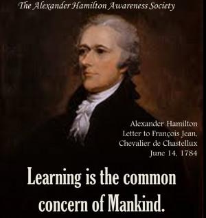 2015 Calendar - Alexander Hamilton Quotes on Government, Economics ...