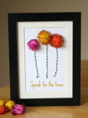 ... Tree craft to display on your shelf and