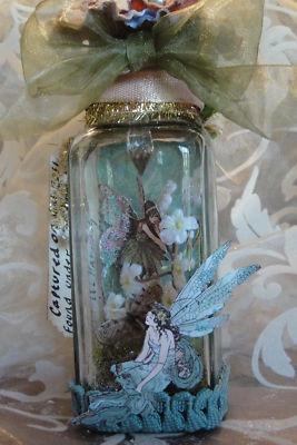... Crafts, Glasses Jars, Altered Art, Fairies Jars, Capture Fairies