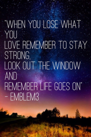 ... url http www quotes99 com when you lose what you love remember to stay
