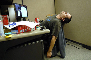 Have a Twitter Hangover? Learn How to Sleep at Work!