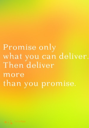 promises #quotes #delivery