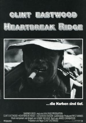 Details zu Heartbreak Ridge ORIGINAL Presseheft Clint Eastwood TOP