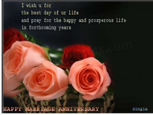 Wishing You A Happy Wedding Anniversary Sister(*•.¸♥¸.•*´)
