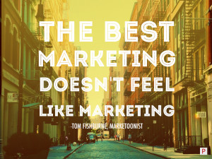 Let your content marketing be fun! You should enjoy creating it, so ...