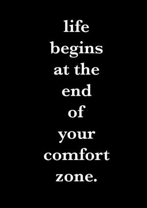 Daily Motivational Quote 7: Life begins at the end of your comfort ...