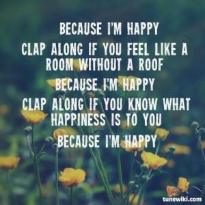 Pharrell Happy Song Lyrics Quotes. QuotesGram Happy Song Lyrics Quotes