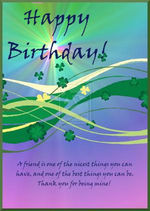 Happy Irish Birthday by HorseJumper12341