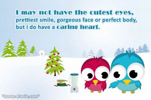 Caring Heart For You Love Quote