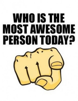 awesome person