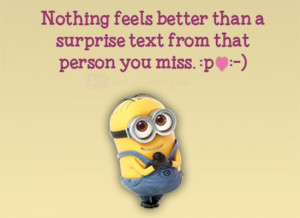 cute minion love words fb pictures home minions quotes nothing feels ...