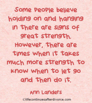 Some people believe.... #quote #Anne Landers