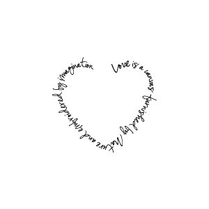 Valentine Clip Art and Romantic Graphics: Love Quote Clip Art Frame